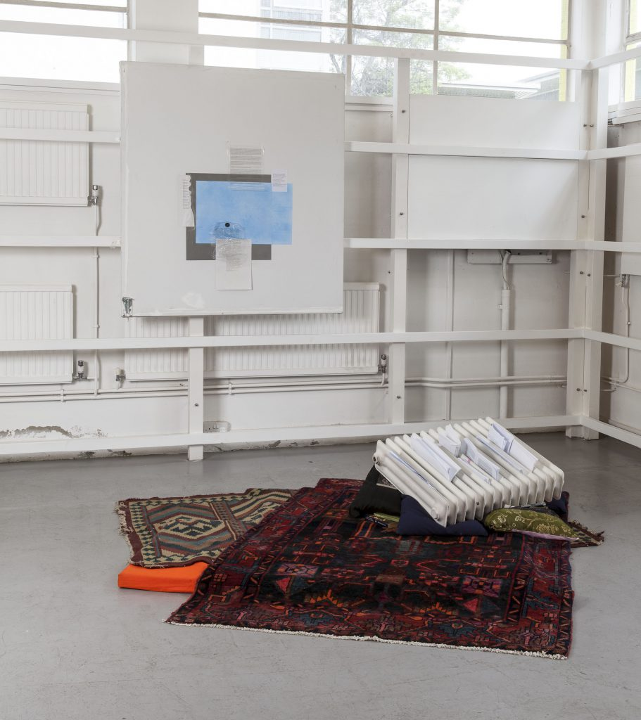 Gerry Bibby, 2014, installation view at The Showroom. Commissioned by The Showroom for How to work together a shared project with Chisenhale Gallery and Studio Voltaire.