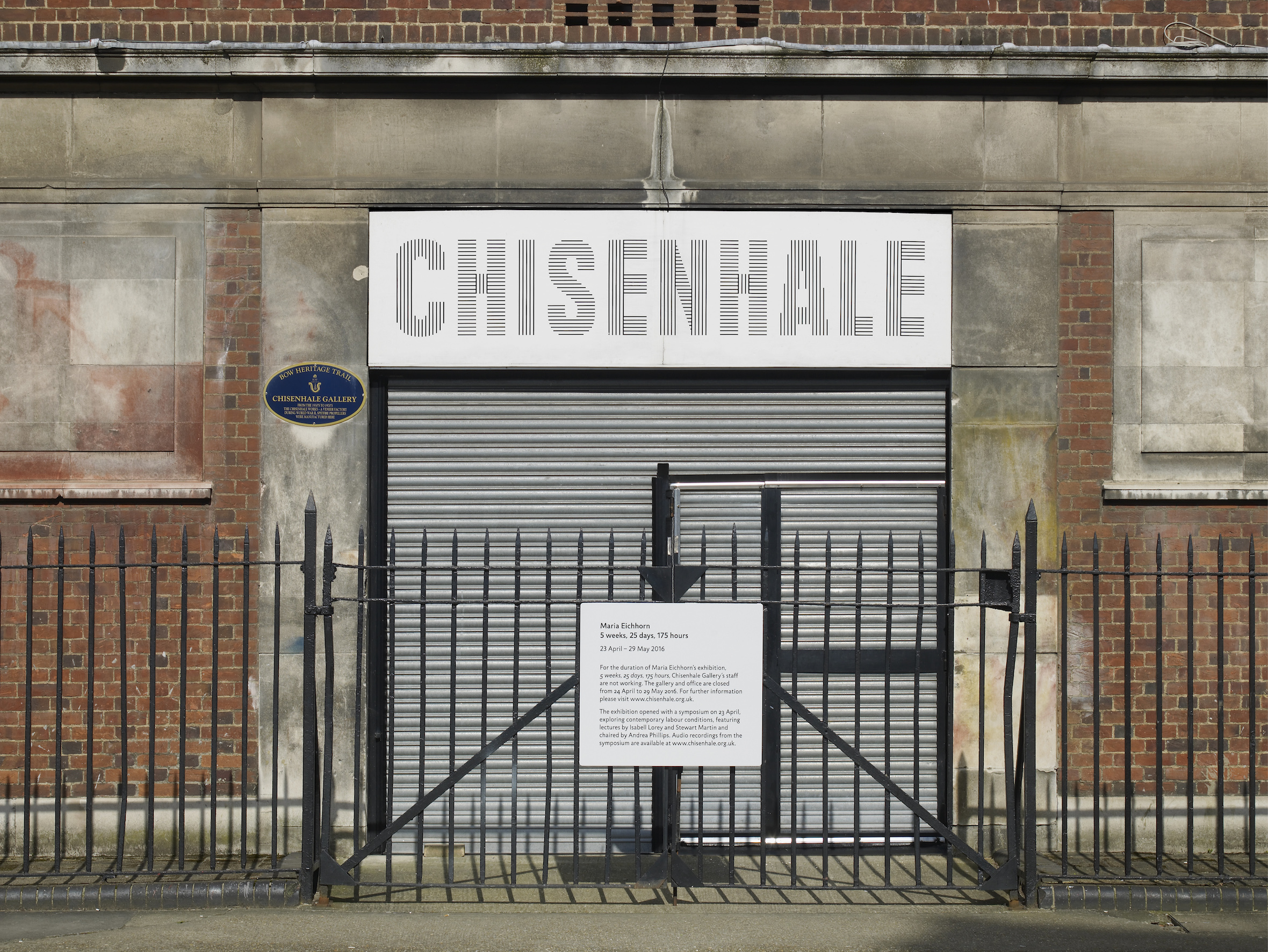 Maria Eichhorn at Chisenhale Gallery_by Andy Keate_03